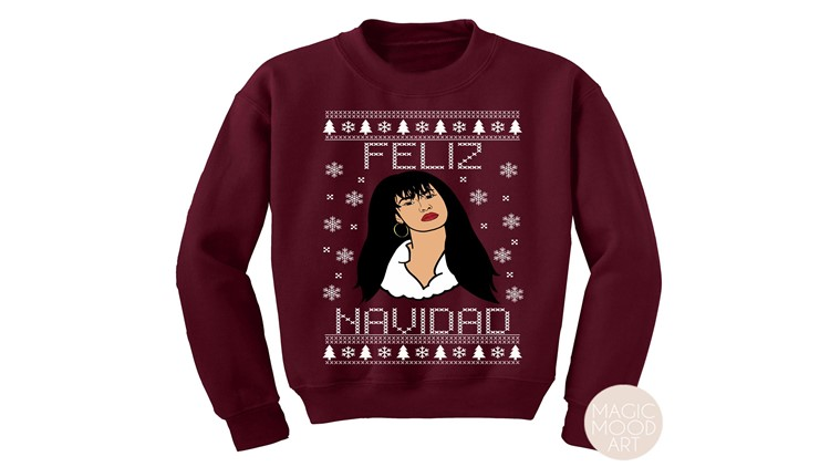 This Selena Christmas sweater is anything but ugly!