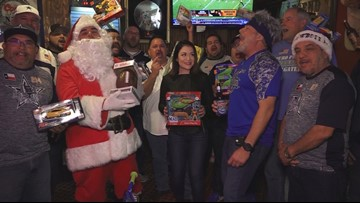 Alamo City Borracho Tailgaters hold second annual toy drive with CASA