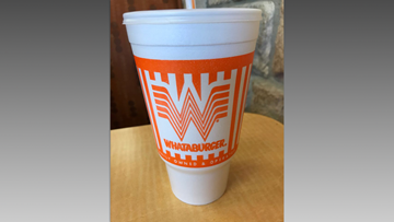 What-a-waste: Local environmentalists protest Whataburger cups