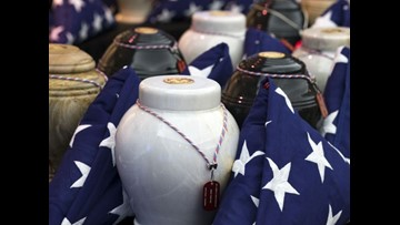 Thousands of veteran remains wait years to be buried