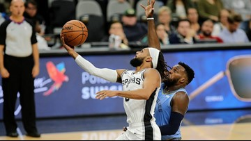 GAME BLOG: Spurs defeat Grizzlies, 108-107