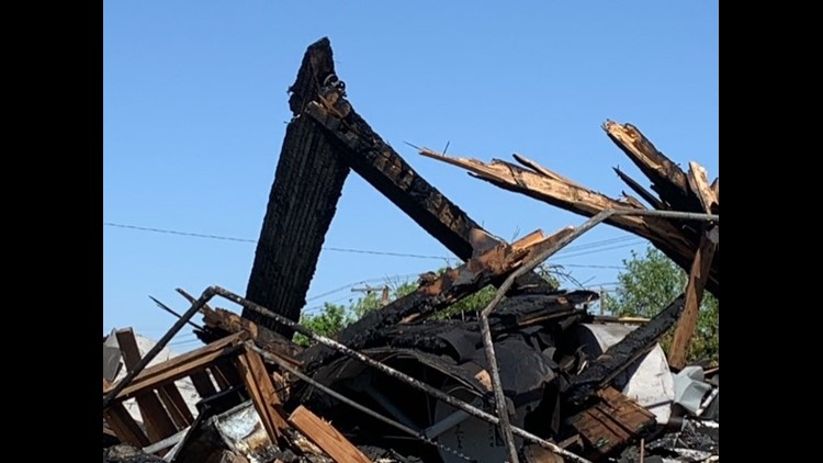 Huntleigh Park Baptist Church destroyed by fire, but members are hopeful for the future