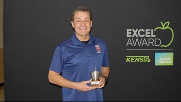 Larry Jentz wins EXCEL Award for North East ISD