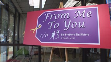 'From Me To You' | Big Brothers, Big Sisters let kids shop, give back