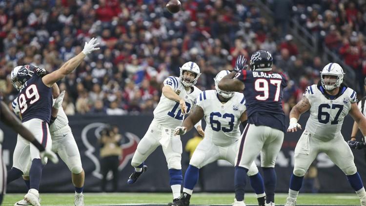Luck leads Colts past Texans, ending Houston's 9-game winning streak