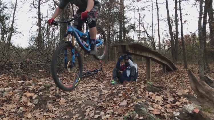 Mission S.A.: Mountain biking therapy helps veterans with PTSD
