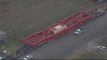 Giant generator on the move in South Texas