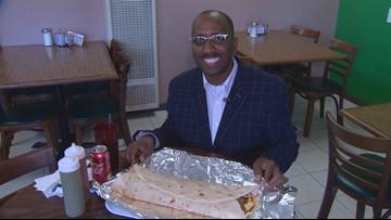 Neighborhood Eats hits the home of the 4lb taco