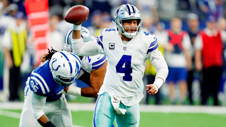Cowboys blanked for first time in 15 years, Colts win 23-0