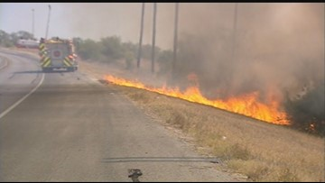 Neighbors team up with firefighters to prevent fast-moving fires