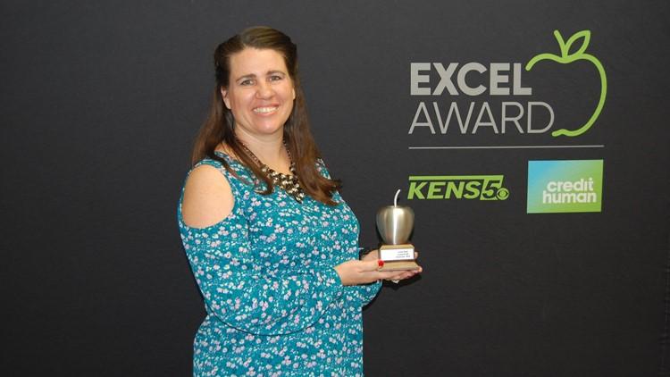 Jaime Ryan wins EXCEL Award for Lackland ISD