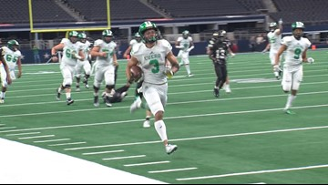 Cuero wins first state championship since 1987, Texas signee logs all-time performance