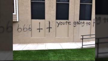 Northwest San Antonio church vandalized on Christmas Eve