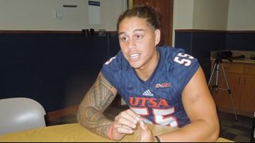 UTSA linebacker Tauaefa joining New York Giants as undrafted free agent