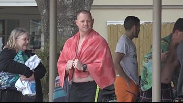San Antonio neighborhood kicks off new year with Polar Bear Swim