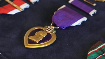 Purple Heart discovered in Alamo City storage unit