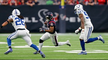Luck has 2 TDs to lead Colts over Texans 21-7 in wild card