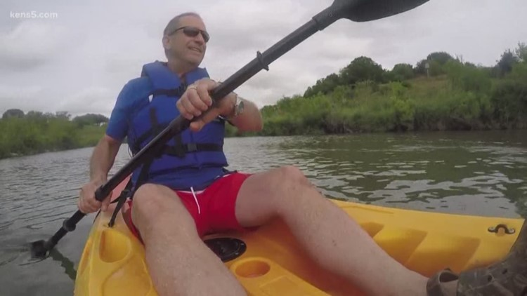 Texas Outdoors: Kayaking the Mission Reach