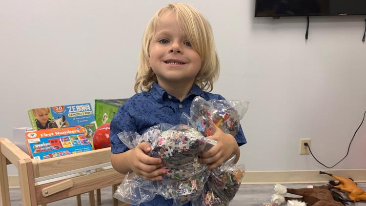 4-year-old donates birthday gifts to foster children for his own birthday