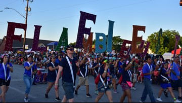 Music, family and lights, lights, lights: Looking back at Saturday night's Fiesta Flambeau