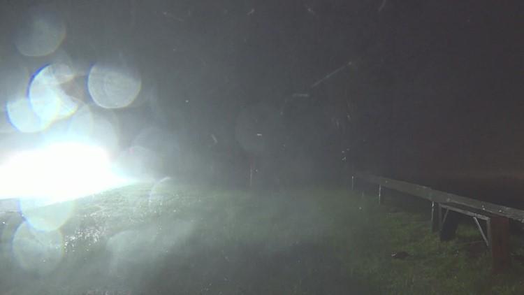 VIDEO: Hurricane Nicholas hits Surfside Beach along Texas coast early Tuesday
