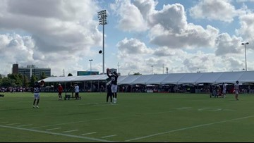 Texans Training Camp, Day 7: Sights, sounds and more