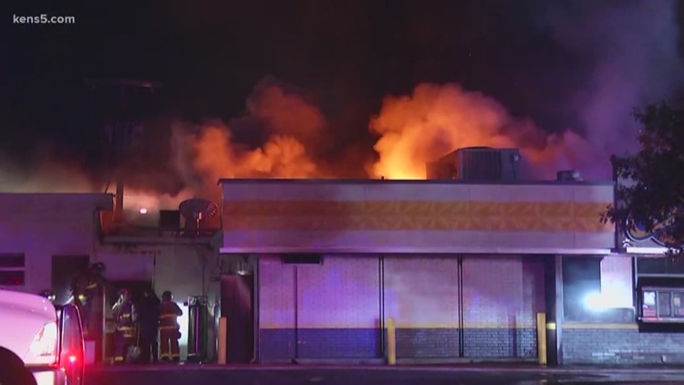 Fire at Church's Chicken affects another church down the street