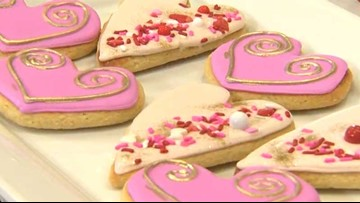 CITY PROS: Nature's Eats - Valentine's Day cookies