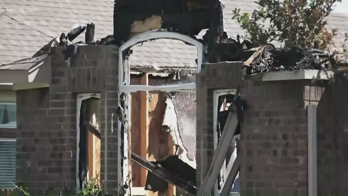 Community helps family rebuild after lightning strike burns home to the ground