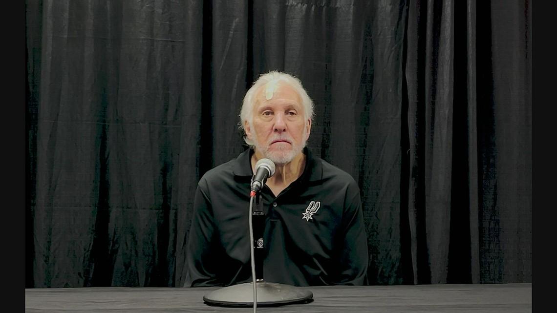 Gregg Popovich says Spurs are making progress after preseason win over Magic