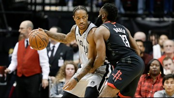 HIGHLIGHTS: Spurs lose to Rockets, 109-107