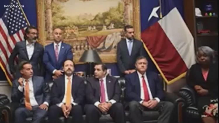 San Antonio lawmakers participate in press conference, speak out against GOP-led voting legislation