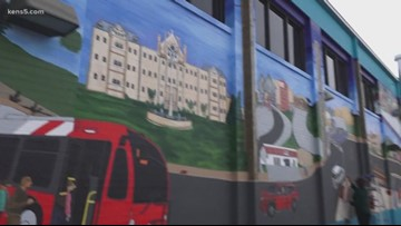 New mural encourages pedestrian, driver safety