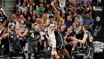 SPURS GAMEDAY: Quirk in schedule has Silver and Black, Bucks squaring off again Monday night
