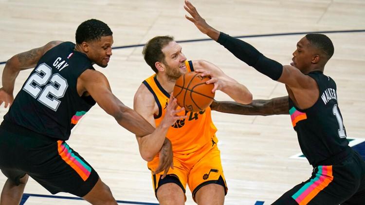 SPURS GAME DAY: San Antonio aims to stop 4-game skid against Utah Jazz