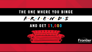The one where you watch 'Friends' for $1K