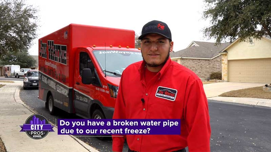 CITY PROS: Do you have broken water pipes due to the recent freeze?