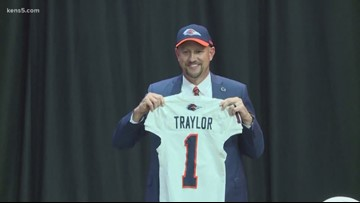 New UTSA football coach Traylor eager to embrace San Antonio and its culture