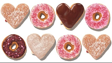 Dunkin' Donuts unveils special Valentine's Day treats