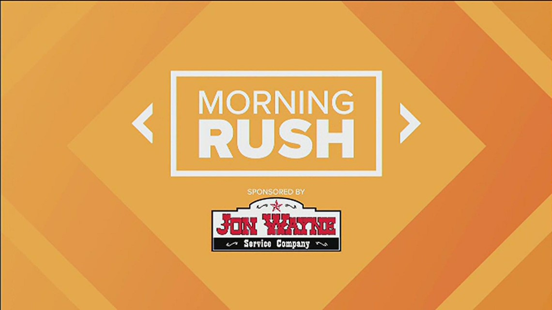 Morning Rush: Gov. Abbott pushes for border wall, college athletes can get paid in Texas, Fiesta heat warning and millions of extra Girl Scout cookies