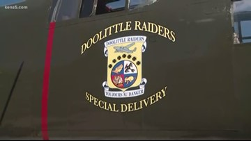 Military members and loved ones remember last of the WWII Doolittle Raiders