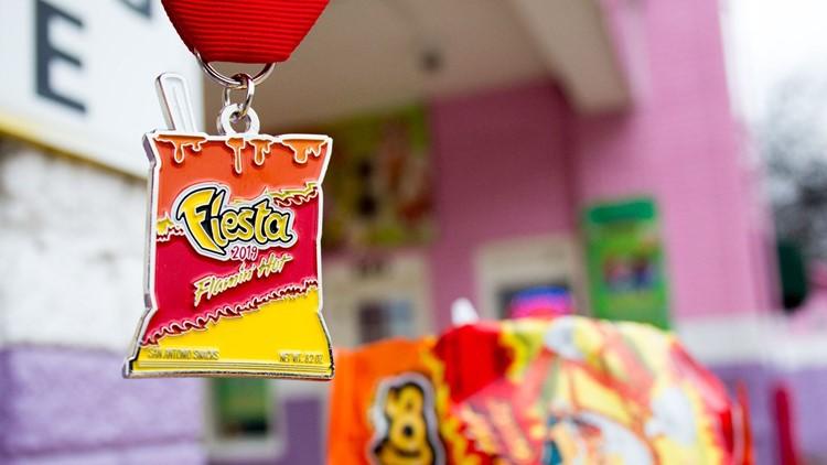 Flamin' Hot Fiesta medal
