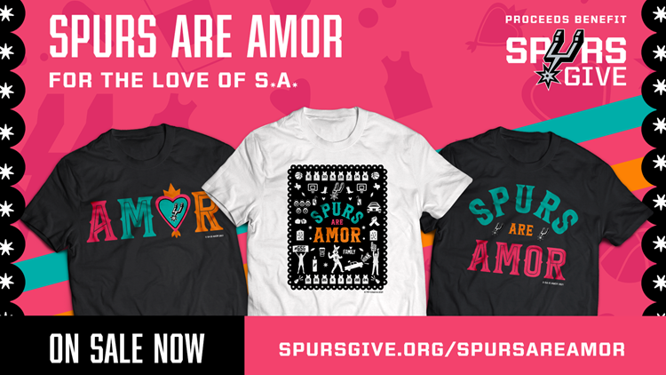 Spurs launch new artsy 'Spurs Are Amor' collectionavailable today