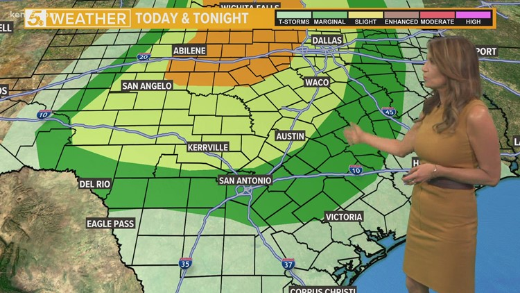 Potential for severe weather comes Tuesday night into Wednesday morning   KENS 5 Weather