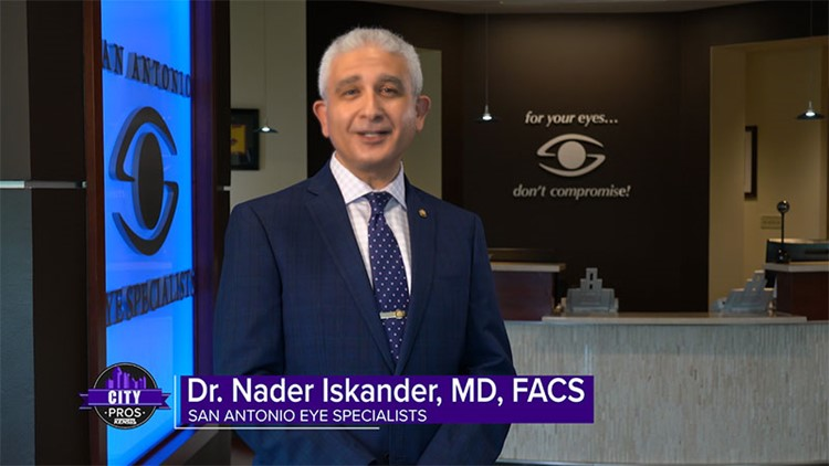 CITY PROS: San Antonio Eye Specialists can evaluate you for cataract surgery