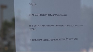 Local dry cleaner business abruptly closes   kens5 com