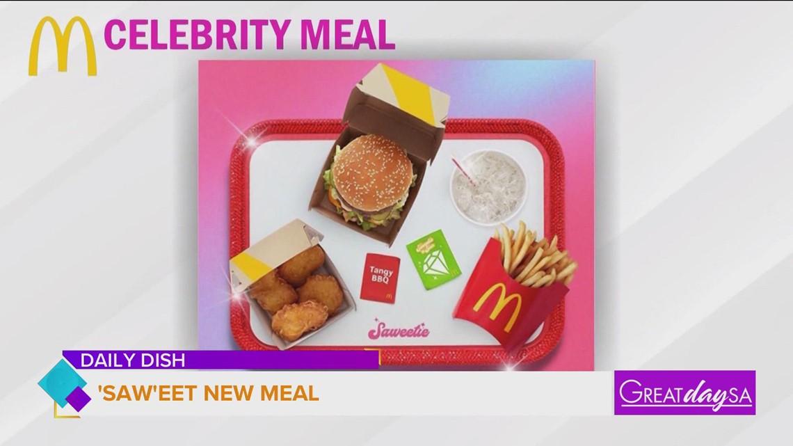 Saweetie gets McDonald's next celebrity meal