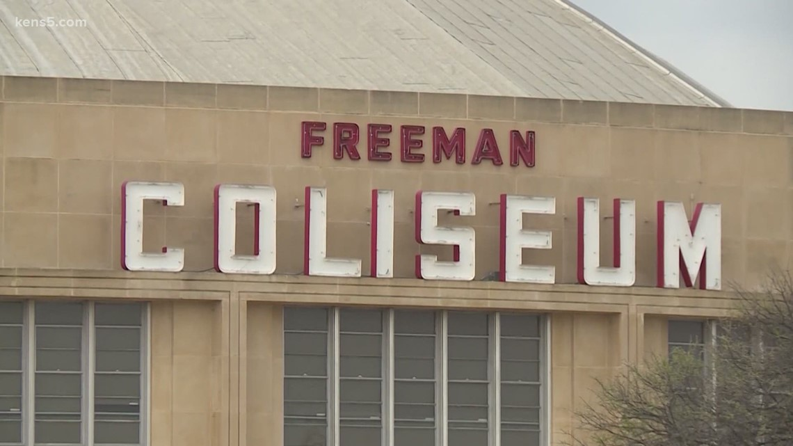 Immigrants' rights groups call on federal government to speed up family reunification process after touring Freeman Coliseum