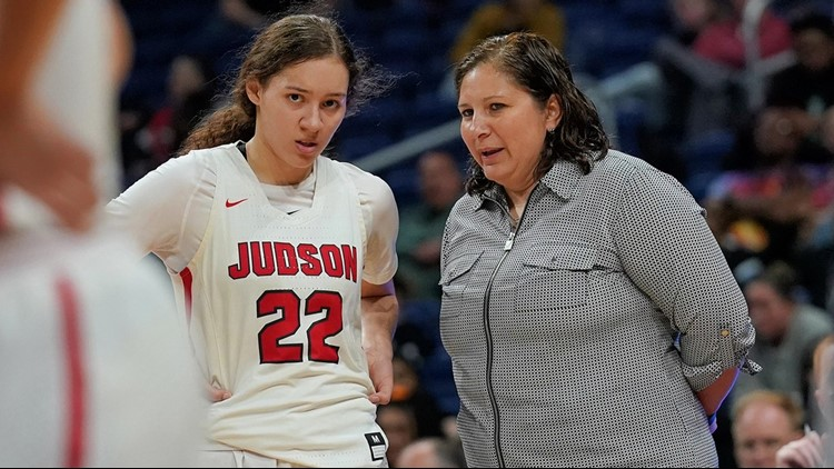 Spotlight continues to shine on Judson girls basketball state champs