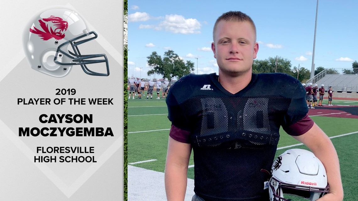 Moczygemba is rallying force for Floresville High School | FNF Player of the Week